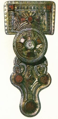 Square headed brooch of the 500's