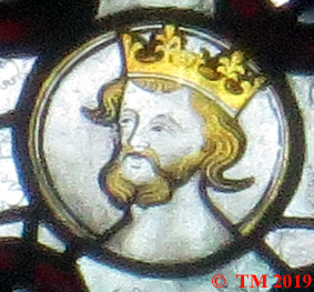 King Edward III as a younger man