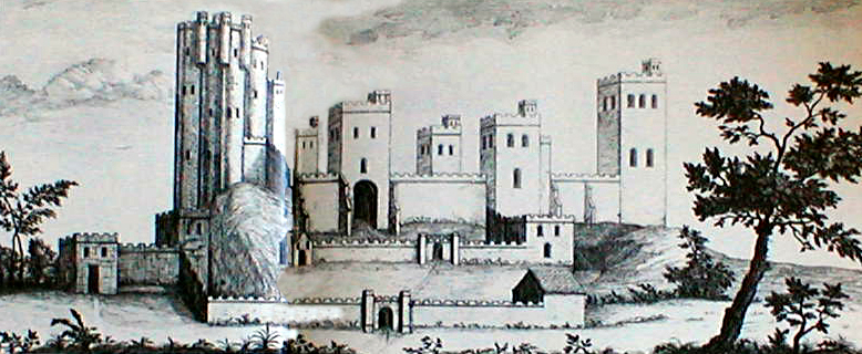 Pontefract Casle before 1648