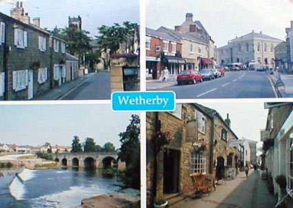 Wetherby from a postcard in the 1990's